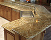 giallo crystal granite